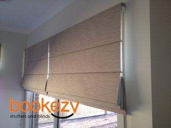 custom made roman blinds